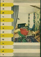 Altes Werbeheft Gardinenschau Fotos Einrichtung Möbel Stoffe 1960er Sixties 60s
