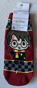 NEW Harry Potter Checkered Women's Socks Shoe Size 4-10