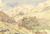 Vernon Wethered NEAC, Mesocco Castle, Switzerland – Early C20th watercolour