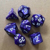 TRPG-Spiele Dungeons & Dragons D4-D20 Multi-seitig Lila würfelt M8U9 Lava X3E5