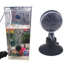 Adjuatable Air Bubble Stone Aquarium Fish Tank Pump Oxygen Diffuser Muffler