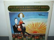 Pete Seeger Sings Little Boxes & Other Broadsides . LP