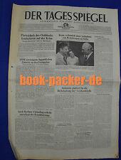 DER TAGESSPIEGEL 31.7.1973: Parteichefs des Ostblocks konferieren auf der Krim