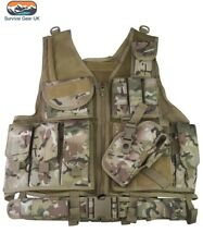 BTP Cross Draw Tactical Vest Security Airsoft Paintball Webbing Army Airsoft