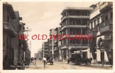 EGYPT - PORT SAID, The Lesseps Street, Real Photo
