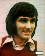 GEORGE BEST POSTER PAGE . MANCHESTER UNITED NORTHERN IRELAND FOOTBALL . F73