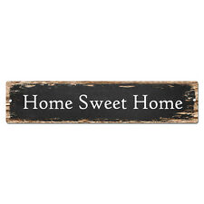 SP-0922 HOME SWEET HOME Tin Chic Sign man cave decor gift Ideas
