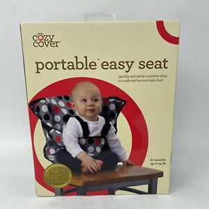 Cozy Cover - Easy Seat - Portable Secure High Chair Converter - Polka Dot