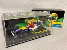 1 43 Minichamps  Williams Renault FW14 British GP July 91 Senna Mansell Ride on