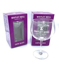 More details for 2 whitley neill gin balloon glasses - brand new & boxed pub bar christmas gift