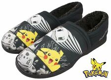 MENS POKEMON SUESS CHARACTER SLIPPERS WARM INDOOR SHOES NOVELTY GIFT UK 6-11
