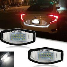 18 Led License Plate Light Lamps For Acura Tl Tsx Mdx Honda Civic Accord 6000k Fits 2004 Honda Civic