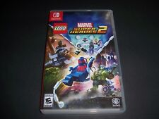 Replacement Case (NO GAME) Marvel Super Heroes 2 Nintendo Switch Box Original