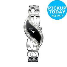 Seksy Ladies' 4276 Black Swirl Dial Bracelet Watch