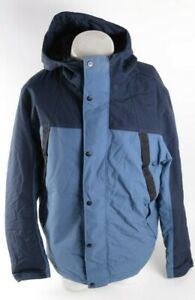 MENS THE NORTH FACE INSULATED JACKET $260 L Blue USED TNF