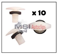 10 x HONDA Rubber Seal, Door, Boot,  Weather Strip,  Trim Clips 91530ST5003