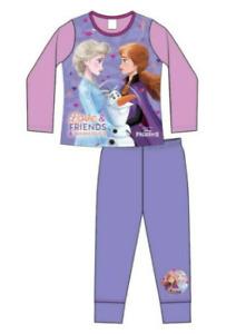 Official Disney Frozen Elsa Anna Olaf  Girls Cotton Pyjamas  4 5 6 7 8 BNWT