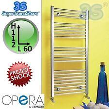 3S SCALDASALVIETTE TERMOARREDO CROMATO DRITTO 112x60 interasse 55 cm OPERA ERCOS
