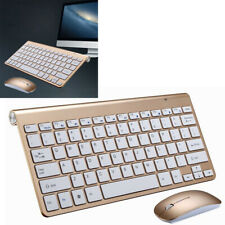 2.4GHz Wireless Slim Keyboard and Cordless Mouse Combo Kit Set for PC Laptop MAC