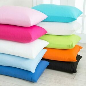 1x 2x 4x Pack Premium 100% Cotton Luxury Pillow Case Housewife Bed Pillow Cover