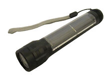 SOLAR POWER CAMPING TORCH with 3 LED'S no batteries needed use the suns rays