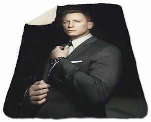 Daniel Craig Winter Blanket 150 x 200 cm Queen size NEW Fleece Sexy Hot Man Hunk