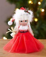 Precious Moments® Christmas Doll - Santa