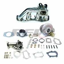 REV9 FITS S13 SILVIA 180SX CA18 CA18DET TD05 18G TURBO CHARGER SET KIT 380HP
