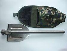 Universal folding shovel titanium. 100% Titanium. Super Light. Durable. In Case.