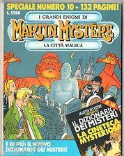 VO ITALIEN ¤ MARTIN MYSTERE SPECIAL n°10 ¤ la citta magica ¤ 1993 BONELLI