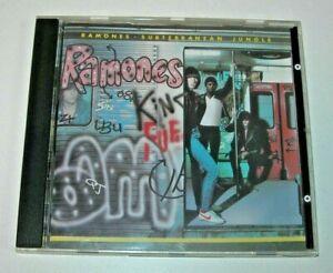 Ramones: Subterranean Jungle CD Sire Records 1983-1994