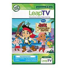 LeapFrog LeapTV Disney Jake and The Never Land Pirates Educational, Age 3-5