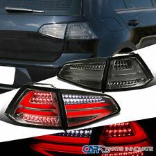 For VW 15-17 Golf GTI Smoke Lens Full LED Rear Tail Lights Reverse Brake Lamps