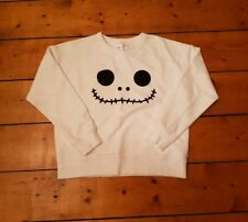 Rare white S Chocoolate Nightmare before Christmas Disney Tsum Tsum sweater BAPE