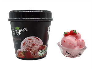 Shopkins Real Littles Berry Breyers RL2-015 Ice Cream Collectible Moose Toys New