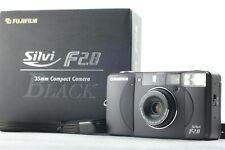 [RARE Almost UNUSED in BOX] Fujifilm Silvi f2.8 Black 35mm FilmCamera from Japan
