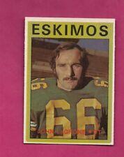 1972 OPC CFL # 93 ESKIMOS JOHN LAGRONE NRMT+  CARD (INV# A4826)