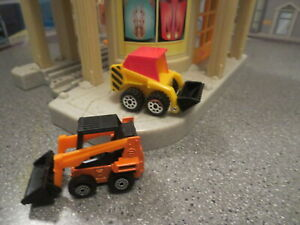 DIECAST AND PLASTIC BOB CATS FRONT END LOADERS