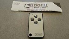 ROGER E80/TX54R/2 RADIOCOMANDO 433,92 MHz 4 CANALI CODICE FISSO 65.536 combinaz