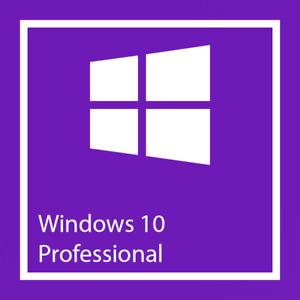Windows 10 Pro Win 32/64-Bit Vollversion Produktschlüssel Activation Key Code