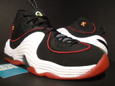 2016 NIKE AIR MAX PENNY II 2 MIAMI HEAT BLACK WHITE RED GOLD BRED 333886-002 9