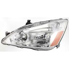 Headlight For 2003-2007 Honda Accord Driver Side w/ bulb