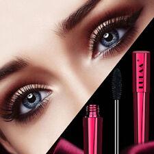 Black eyelashes women silk fiber eyelash 4D mascara makeup waterproof extens WZ