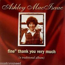 Ashley MacIsaac - Fine Thank You Very Much (CD, 1996) Celtic VG++ 9/10