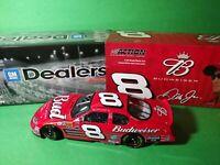 2004 DALE EARNHARDT JR #8 Budweiser Action GM Dealers NASCAR  Diecast