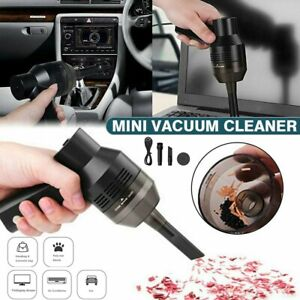 Portable Air Duster Electric Cleaner Cleaning Blower For Cars PCs Keyboard US