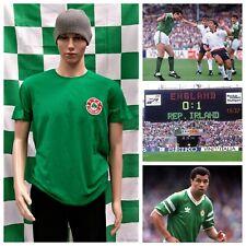 Republic of Ireland EURO 88 (EIRE) Toffs Football Training Shirt (Adult Small)
