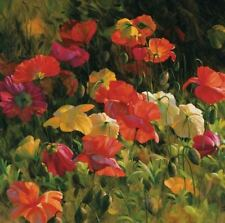 """Counted Cross Stitch Kit """"Poppies"""" by Andrea's Designs"""