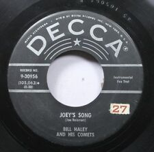 50'S & 60'S 45 Bill Hayley And His Comets - Joey'S Song / Iig! Kiij-A-There, Ain
