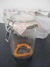 Brand New! Le Parfait 'Super' Glass Preserving/Storage Jars 1L - A2